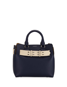 marais-small-leather-satchel-bag by burberry