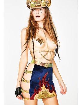 Dragon Tamer Harness Skirt by Jackalope Land