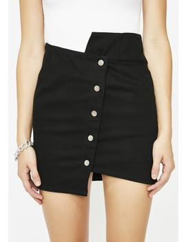 Midnight So Obsessed Mini Skirt by Joa