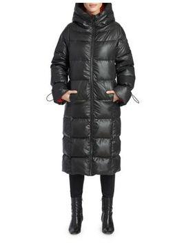 Katy Long Puffer Jacket by Noize