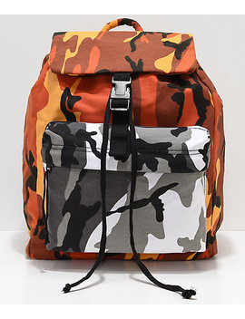 Rothco Savage Orange & City Camo Backpack by Rothco