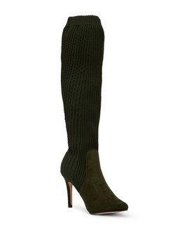 Domhigh Textured Knit Tall Boot by Catherine Catherine Malandrino