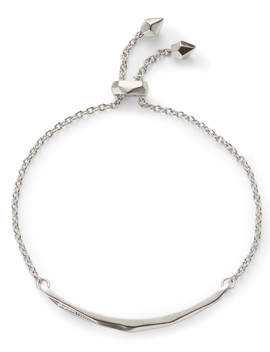 Angela Adjustable Chain Bracelet In Silver by Kendra Scott