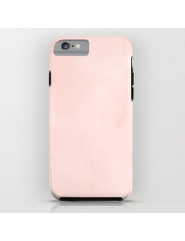 Seashell Pink Watercolor I Phone Case by