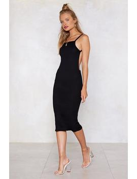 Open Invitation Midi Dress by Nasty Gal