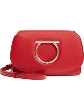 Mini Vela Leather Crossbody Bag by Salvatore Ferragamo
