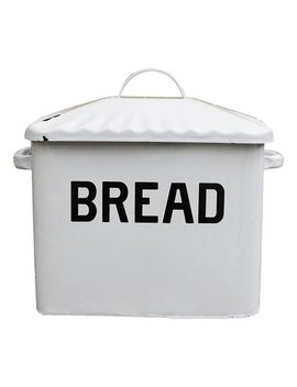 White 'bread' Box by Zulily