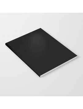 Simply Midnight Black Notebook by
