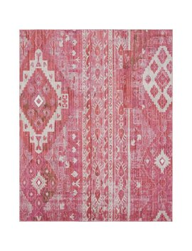 Bungalow Rose Bearden Pink Area Rug by Bungalow Rose