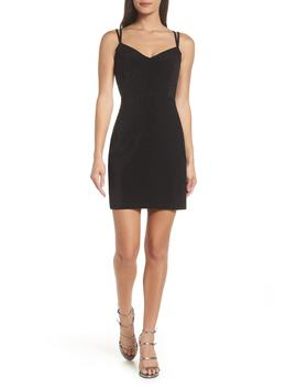 Strappy Glitter Knit Dress by Morgan & Co.