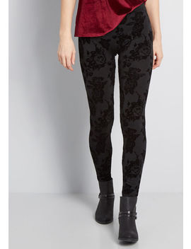 Toasty Priority Fleece Lined Leggings by Modcloth