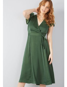 Affirmed Appeal A Line Dress by Modcloth