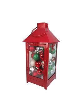 St. Nicholas Square® Light Up Lantern Christmas Table Decor by St. Nicholas Square