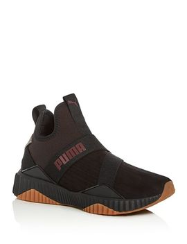 Women's Defy Luxe Mid Top Sneakers by Puma