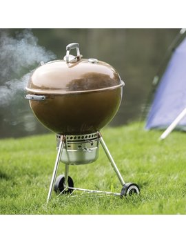 "Weber 22"" Original Kettle Premium Charcoal Grill & Reviews by Weber"