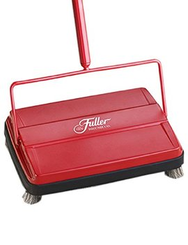 "Fuller Brush Electrostatic Carpet & Floor Sweeper   9"" Cleaning Path   Red by Fuller Brush"