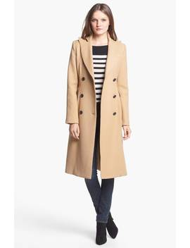 Long Double Breasted Wool Coat by Smythe
