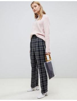 Selected Check Trousers by Selected