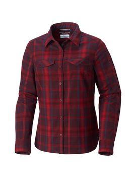 Women's Silver Ridge™ Long Sleeve Flannel Top by Columbia Sportswear