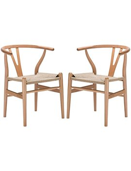 Poly And Bark Weave Chair In Natural (Set Of 2) by Poly And Bark