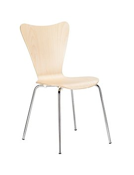 Poly And Bark Elgin Side Chair In Natural by Poly & Bark