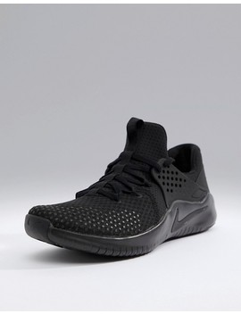 Nike Training V8 Free Sneakers In Black Ah9395 003 by Nike