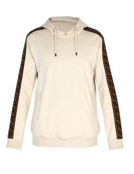 Ff Logo Hooded Sweatshirt by Matches Fashion