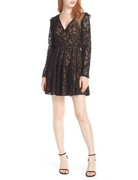 Sweet Heart Lace Minidress by Ali & Jay