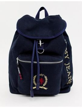 Tommy Jeans Capsule Crest Logo Backpack by Tommy Jeans Capsule