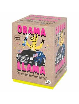 Obama Llama: The Celebrity Rhyming Party Game by Big Potato
