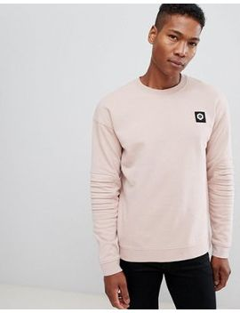 Jack & Jones Core Sweatshirt With Biker Sleeve Detail by Jack & Jones