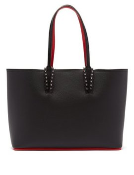 Cabata Small Spike Embellished Leather Tote by Matches Fashion