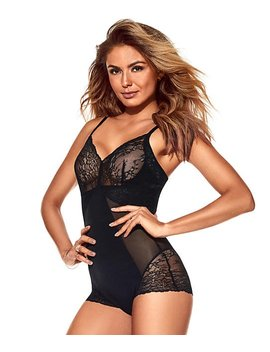 Lace Collection Wire Free Bodysuit by Spanx