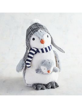 Spinner & Spike The Plush Penguin & Baby Stuffed Animal by Pier1 Imports