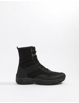 Asos Design High Top Sneakers In Black by Asos Design