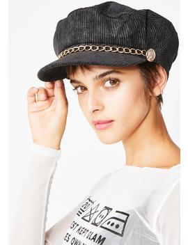 Catchin' Flights Baker Boy Hat by Impulse Fashion Accessories