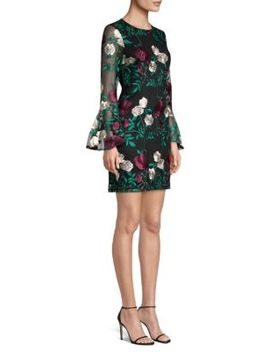 Embroidered Lace Cocktail Dress by Laundry By Shelli Segal