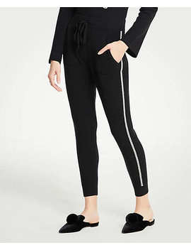 Side Stripe Joggers by Ann Taylor
