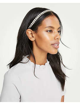 Crystal Elastic Headband by Ann Taylor