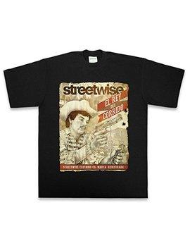 Streetwise Chalino T Shirt (Black) by Street Wise