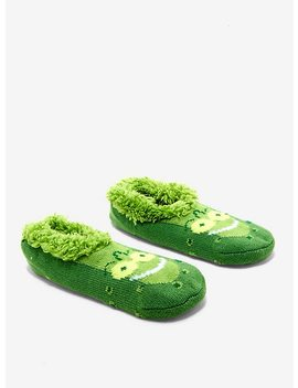 Rick And Morty Slip On Pickle Rick Slippers by Hot Topic