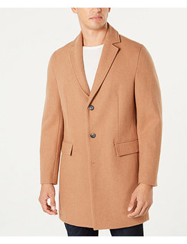 I.N.C. Men's Dublin Camel Topcoat, Created For Macy's by Inc International Concepts