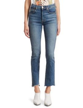 Double Needle Skinny Jeans by Re/Done