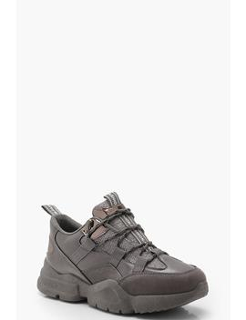 Chunky Hiker Trainers by Boohoo