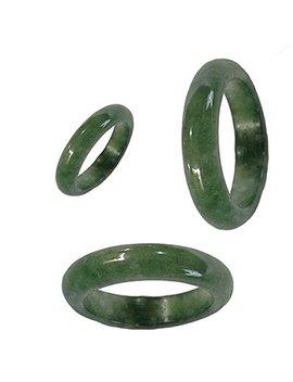 Karatgem Mixed Color Jadeite Jade Ring 6 Mm Us Size 4.5 10 by Karatgem Jewelry