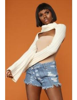 Young And Heartless Sweater   Cream by Fashion Nova