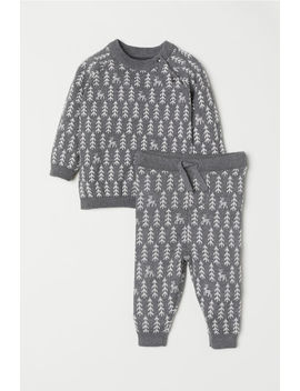 Cotton Sweater And Pants by H&M