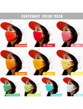 Cooter Boy Face Mask 100 Percents Cotton Unisex Anti Fine Dust Fun Young K Pop Style Korea by Ebay Seller