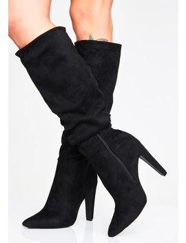 Making Moves Slouchy Boots by Qupid