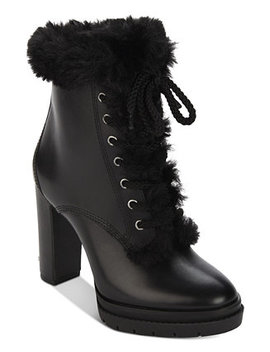 Darcy Lace Up Waterproof Booties, Created For Macy's by Dkny